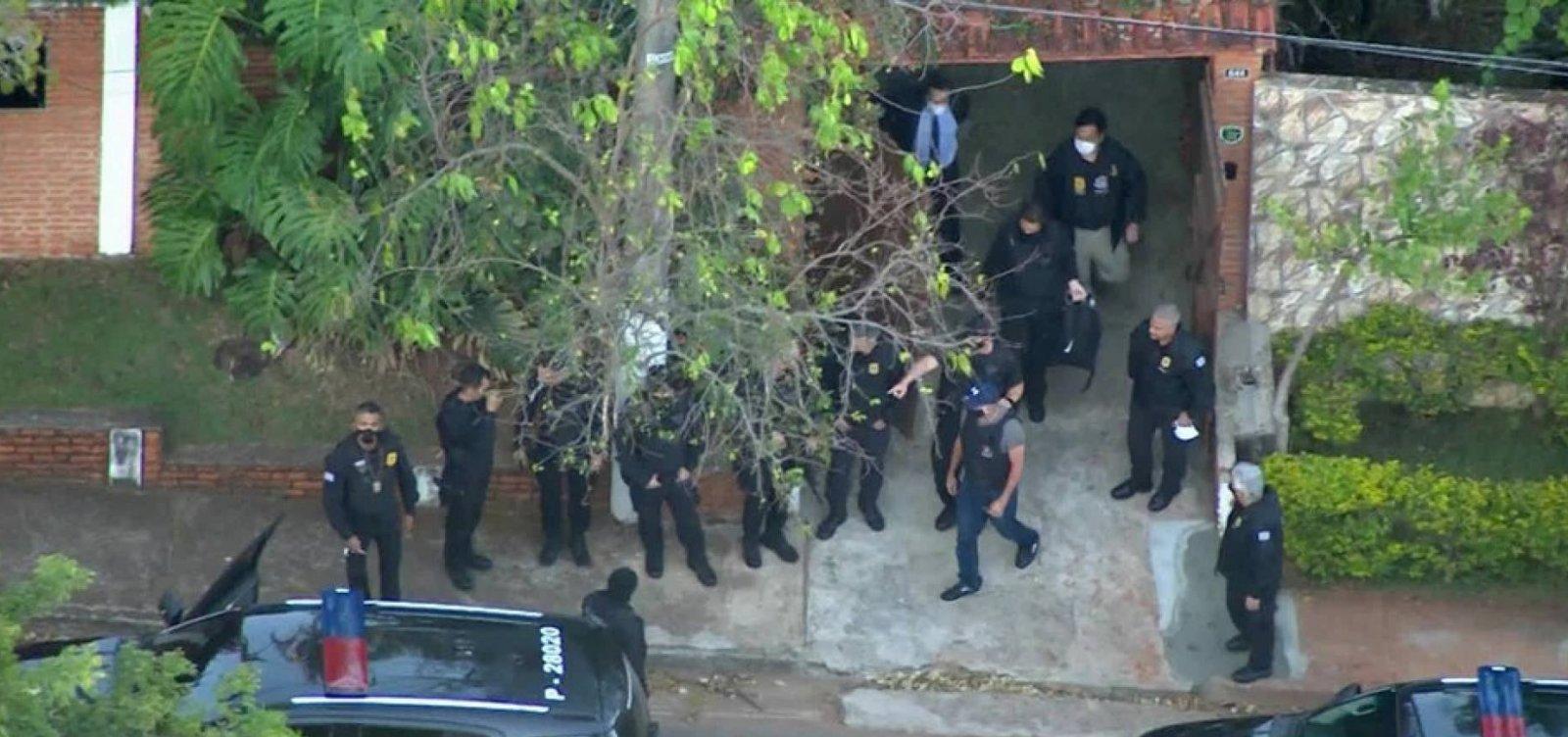 [Para evitar vazamento de informação, policiais não sabiam que iriam prender Fabrício Queiroz]