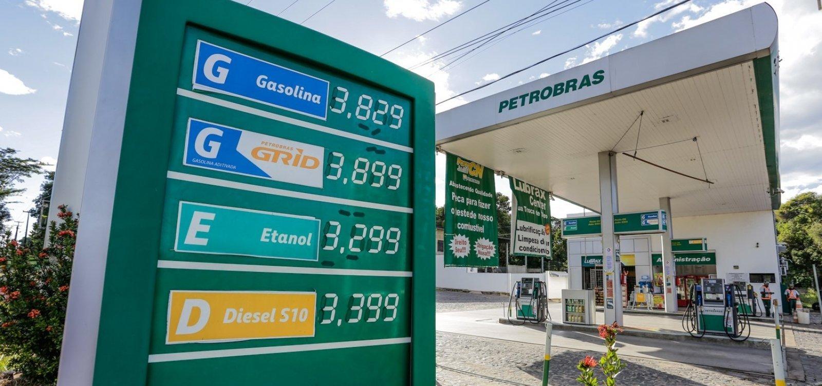 [Preços de gasolina e diesel sobem nas refinarias a partir desta sexta]