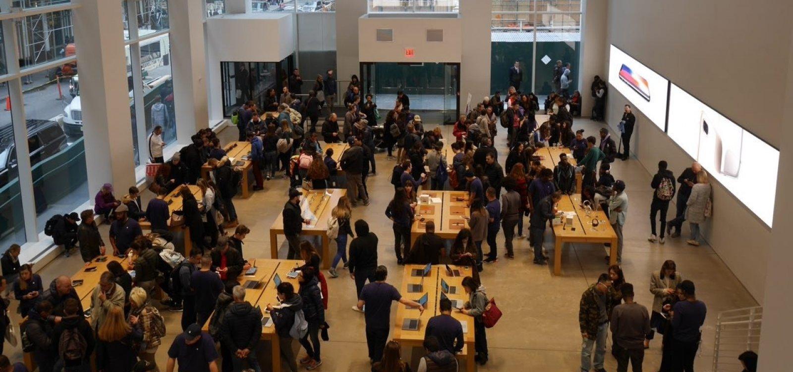 [Apple vai fechar 11 lojas nos EUA por aumento de casos de coronavírus]