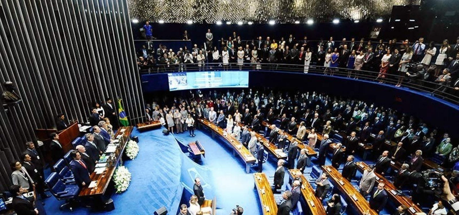 [Senado marca para terça-feira votação da PEC do adiamento das eleições ]