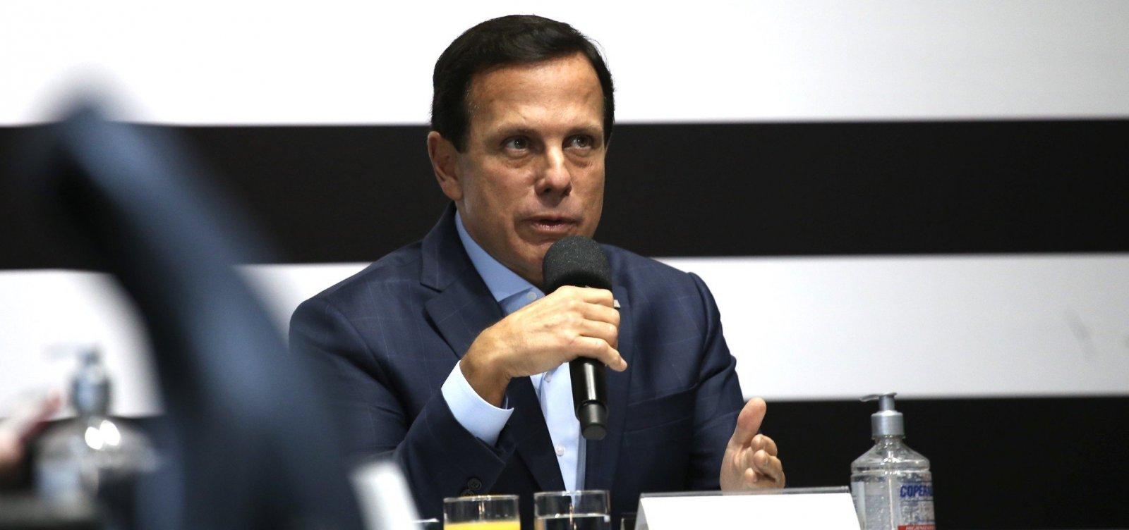 [Doria elogia Rui e ACM Neto e diz que Brasil virou 'pária': 'Até Trump fala mal']