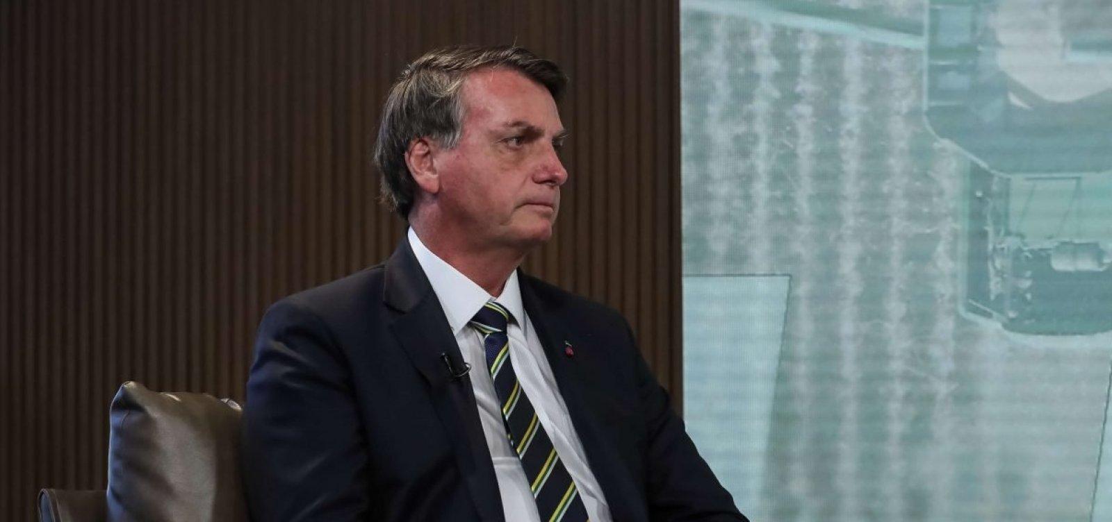 [Bolsonaro culpa 'desinformação' por imagem ambiental negativa do Brasil]