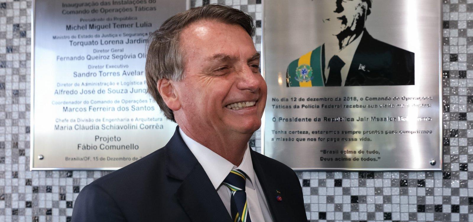 [Bolsonaro critica 'exagero' no enfrentamento da pandemia e pede reabertura do comércio]