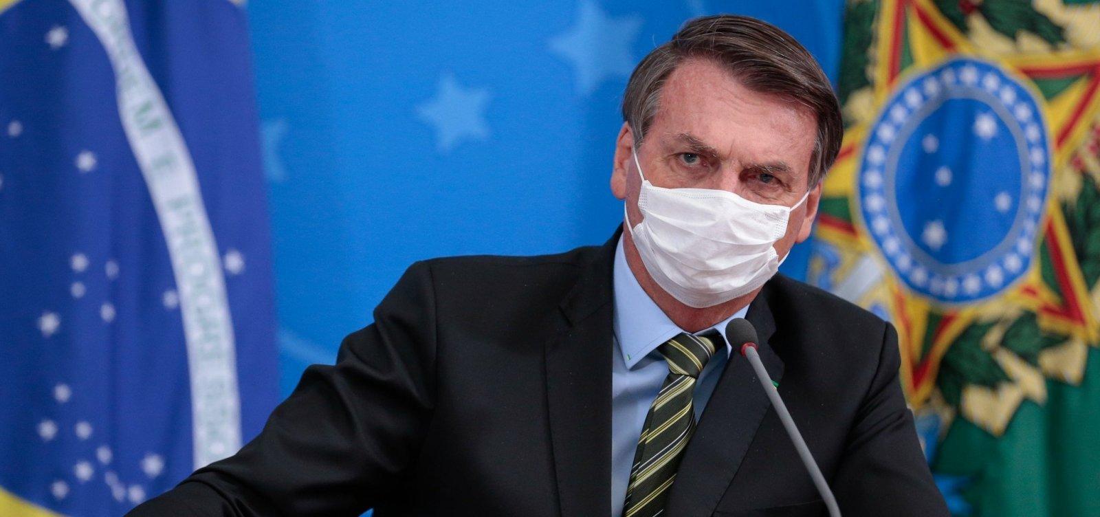 [AGU vai recorrer de decisão que obriga Bolsonaro a usar máscaras]