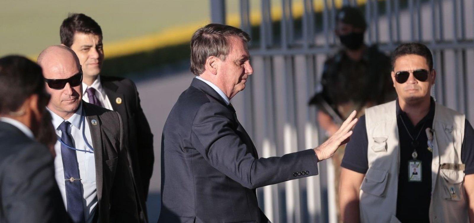 [PF informa a ministro que precisa ouvir Bolsonaro nos próximos dias em caso de interferência]