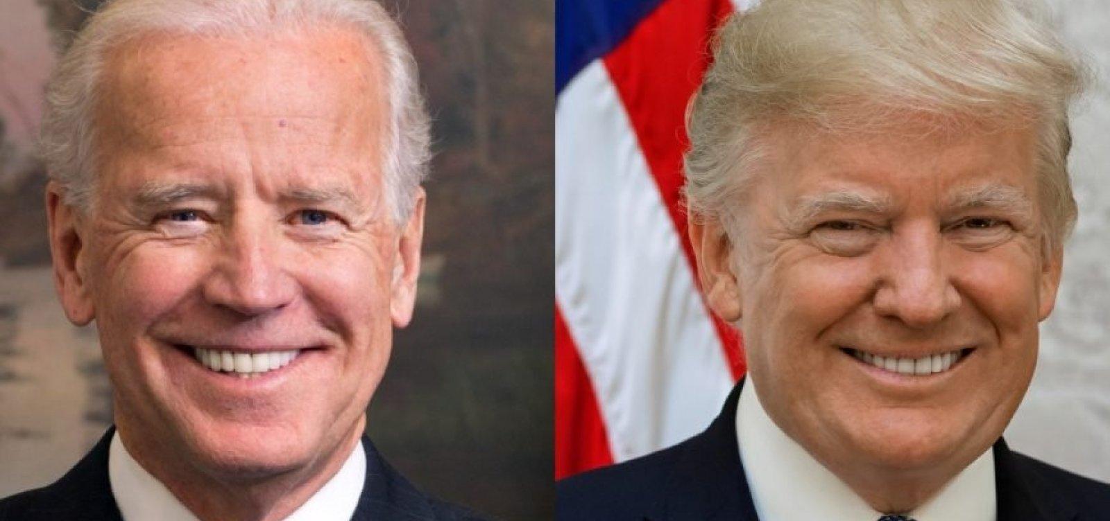 [Eleição nos EUA: Biden tem 14% de vantagem sobre Trump, diz pesquisa do New York Times]