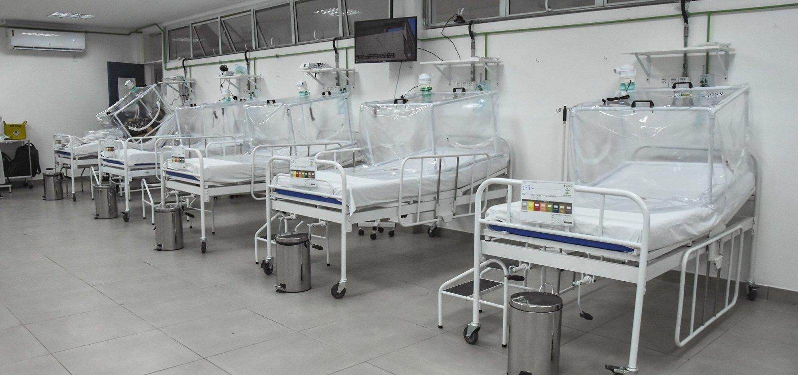 [Manaus encerra atividades em hospital de campanha para Covid-19 após zerar pacientes na unidade]