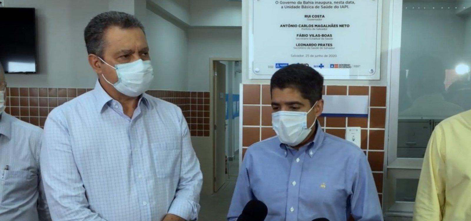 [Rui Costa e ACM Neto inauguram Unidade Básica de Saúde do IAPI]