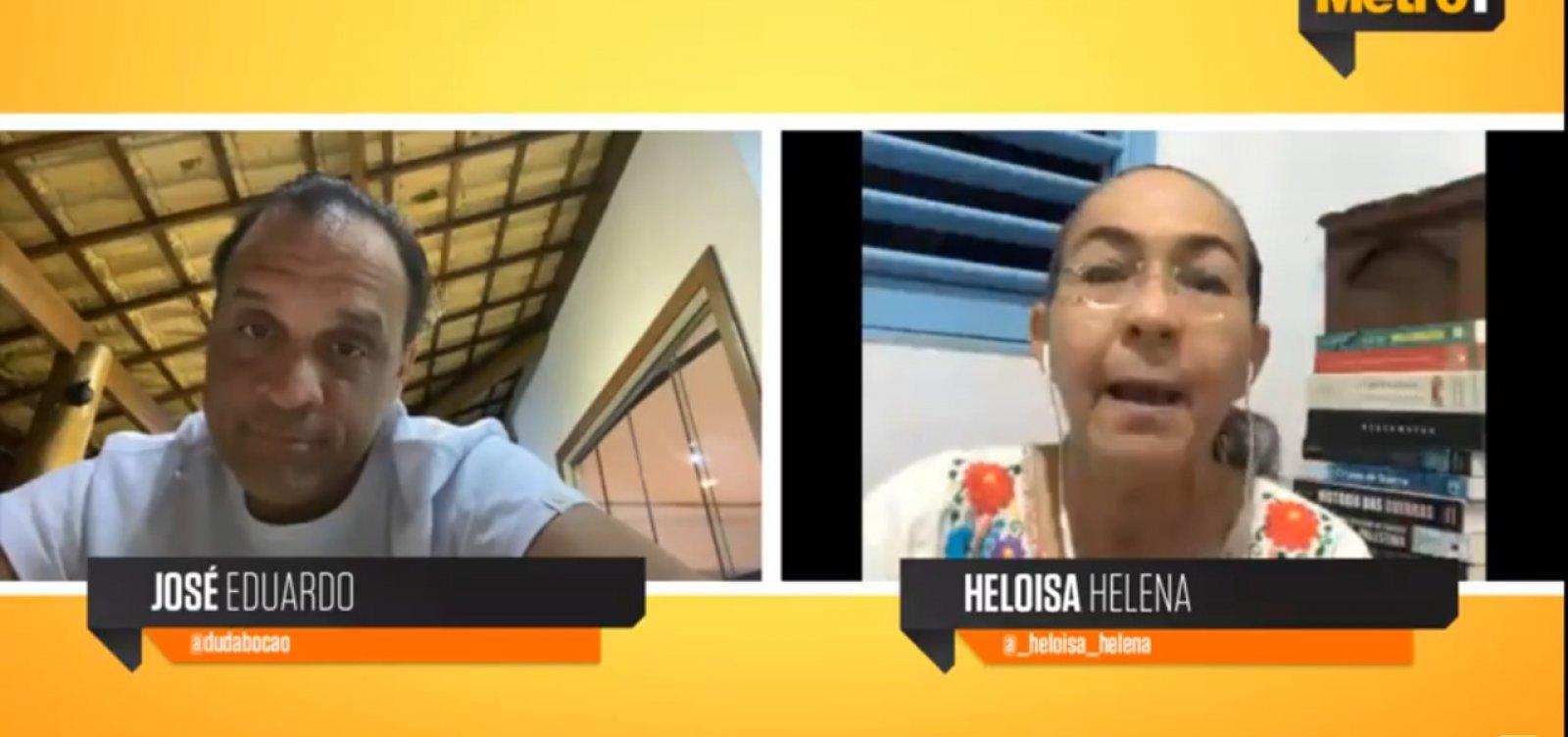 [Heloísa Helena chama Bolsonaro de 'farsante e vendilhão da pátria']