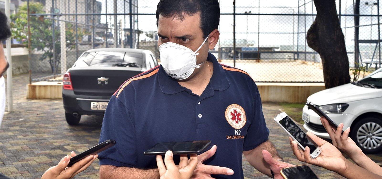 [Secretário de Saúde de Salvador diz que medidas restritivas nos bairros têm melhorado cenário de pandemia]