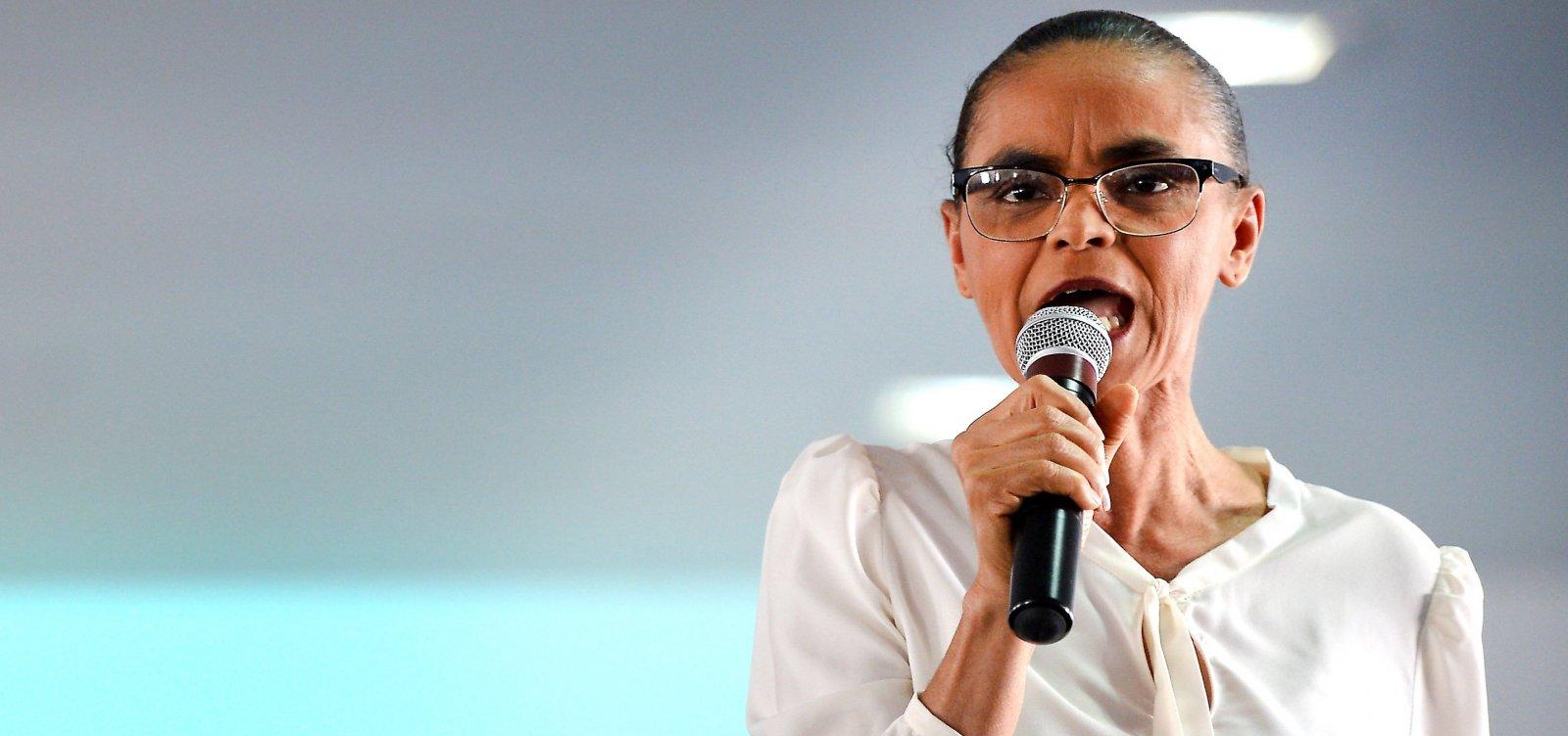 [Marina critica postura de Bolsonaro e diz que governo é 'principal vetor da crise']