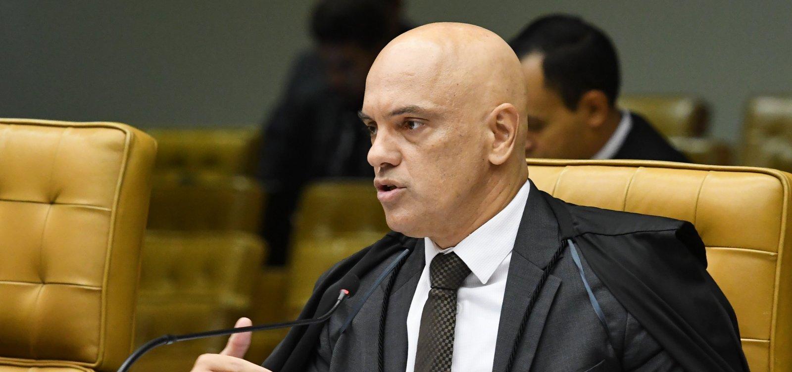 [Moraes diz que harmonia entre poderes não se confunde com 'apatia' do Judiciário]