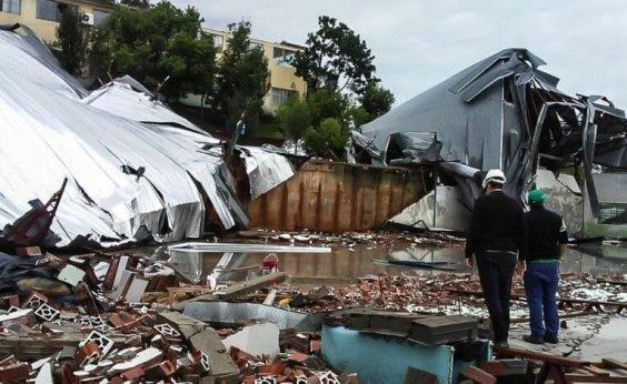 ['Ciclone bomba' provoca ao menos quatro mortes no Sul do Brasil]