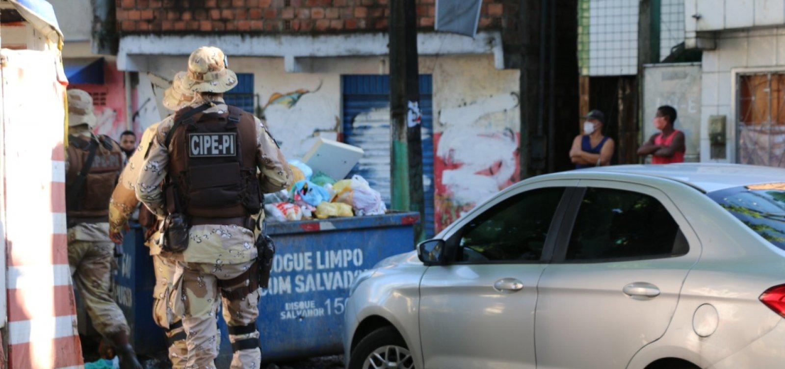 [PM ocupa três bairros de Salvador para impedir confronto entre traficantes]