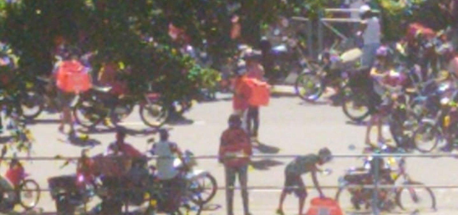[Entregadores de aplicativos fazem manifestações em Salvador]