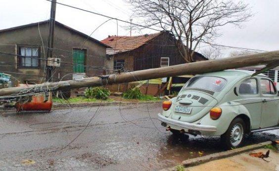 [Sobe para nove o número de mortes por 'Ciclone Bomba' no Sul do Brasil]
