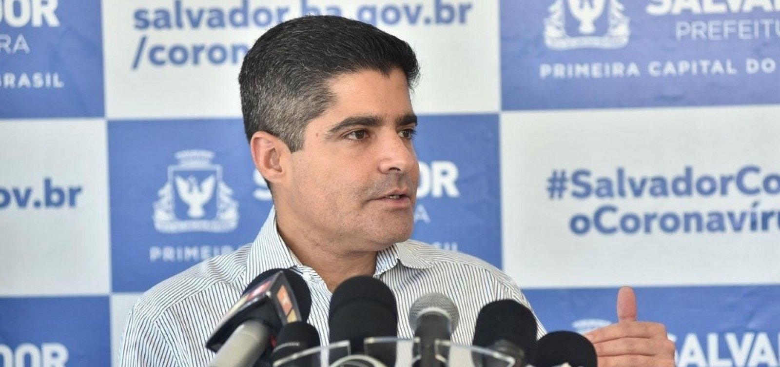 [ACM Neto: 'Brasil já teria superado fase crítica do coronavírus se autoridades tivessem se unido']