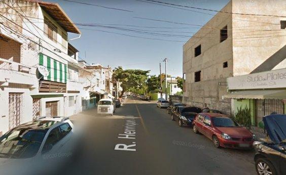 [Rua Henrique Dias é interditada para avanço de obras do Caminho da Fé]