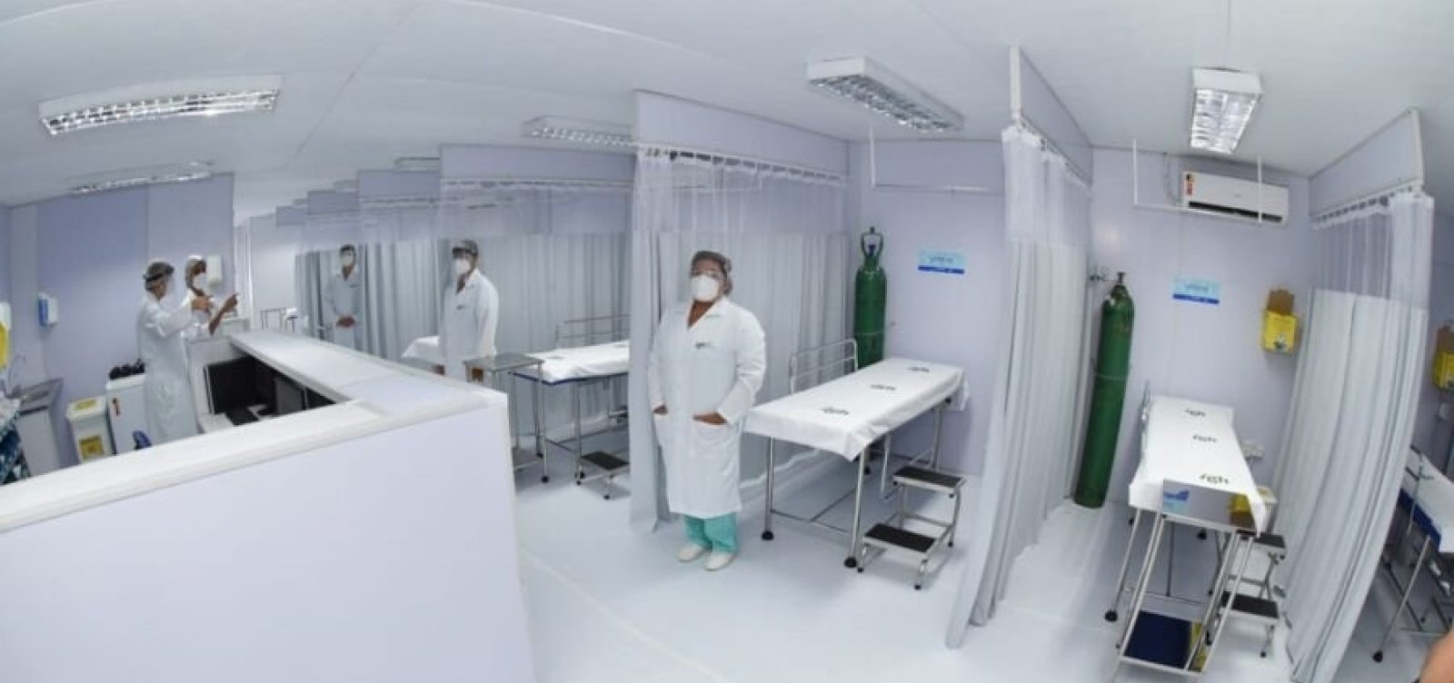 [Prefeitura inaugura Gripário de Santo Inácio; espaço reforça atendimento a pacientes com Covid-19]