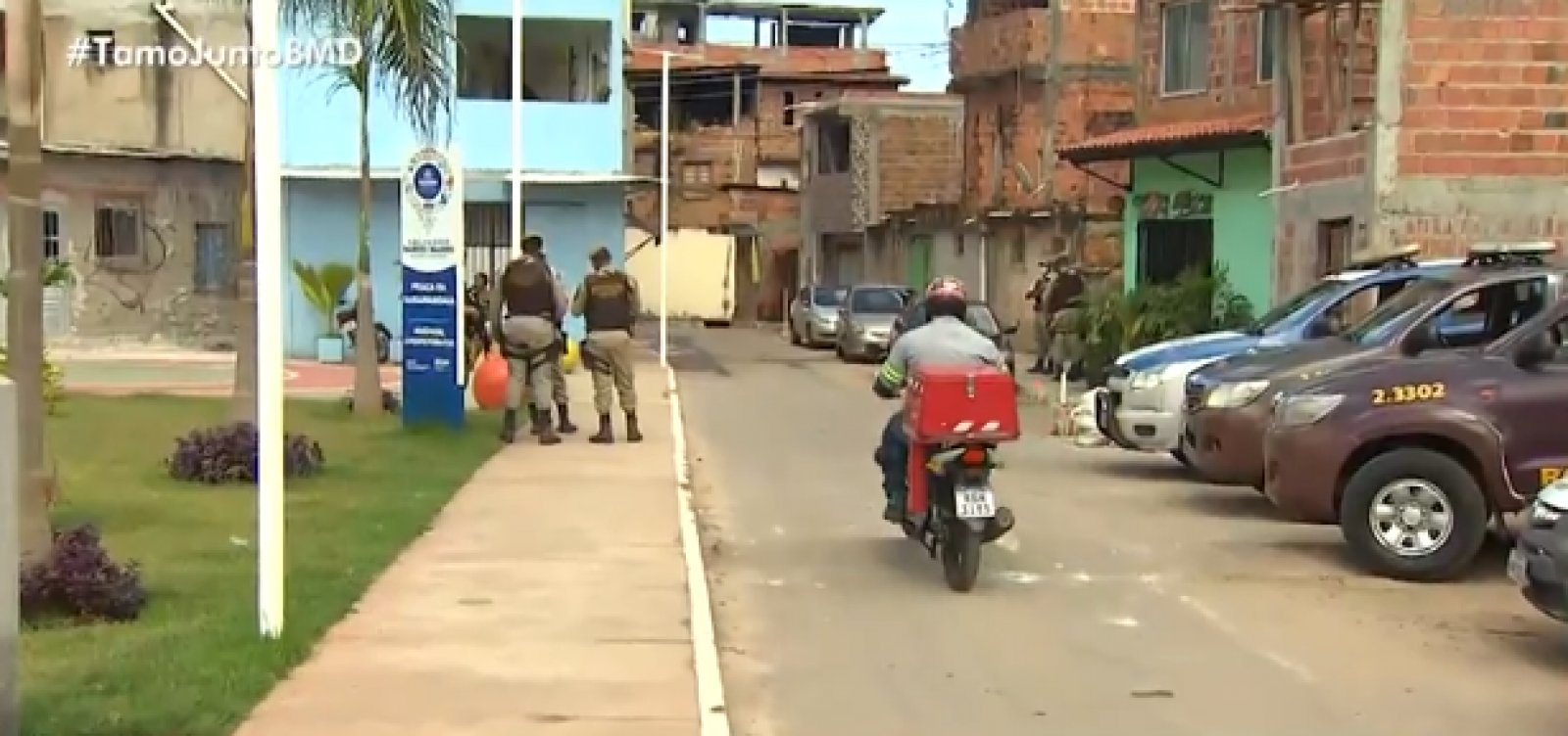 [Após tiroteio no local, testes rápidos são suspensos no bairro de Saramandaia]