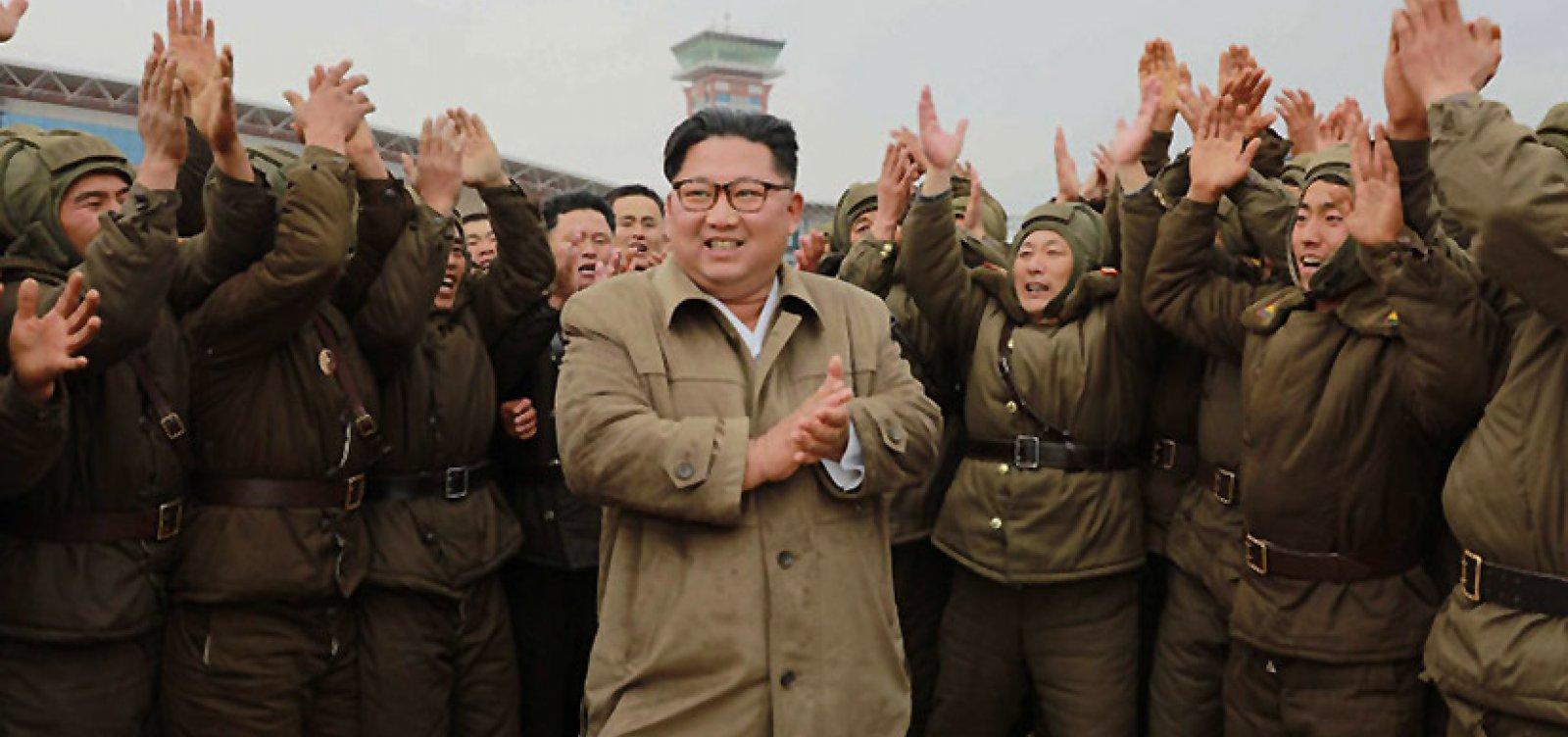 [Kim Jong-un diz que Coreia do Norte teve zero caso de Covid: 'Sucesso brilhante']