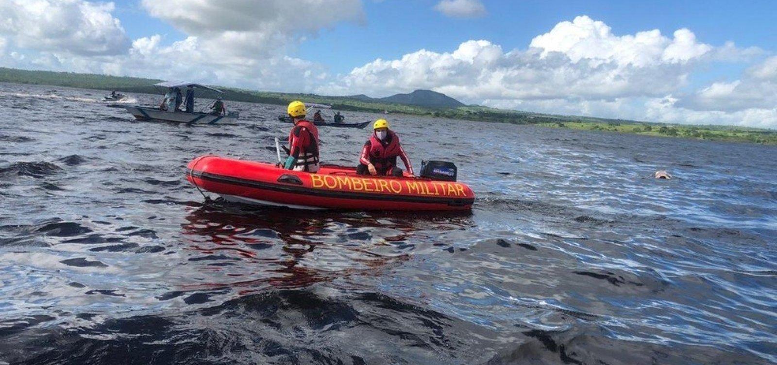 [Mais dois corpos são encontrados após embarcação virar no Rio Paragraçu]
