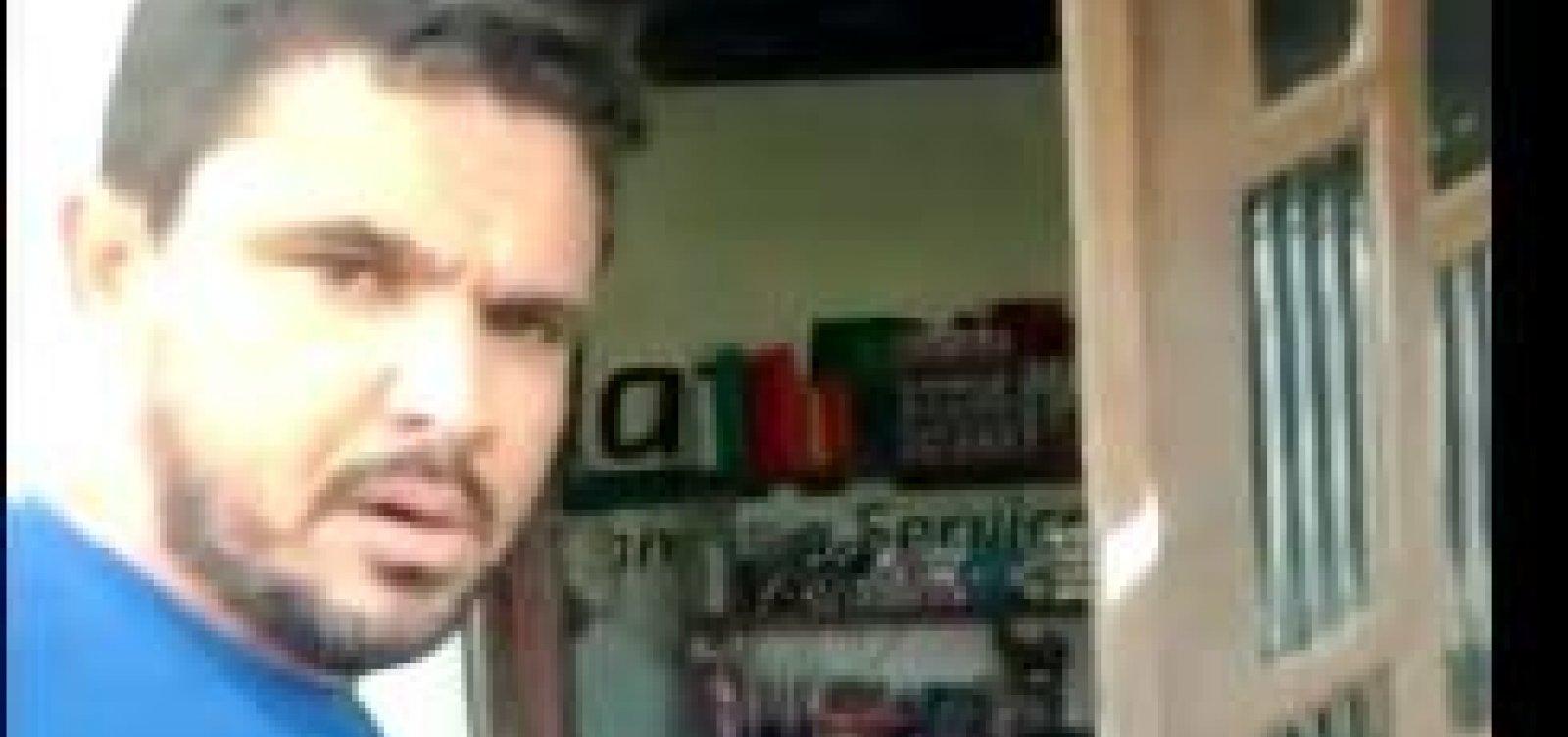 [Sem máscara, pré-candidato na Bahia vai à casa de eleitor discutir com '20 pessoas de prova']