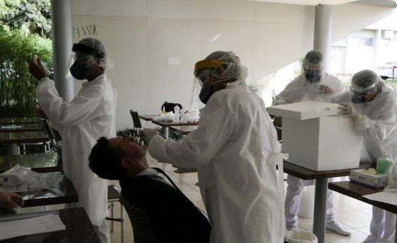 [Ministério da Saúde: Brasil registra 602 mortes por coronavírus em 24h neste domingo]