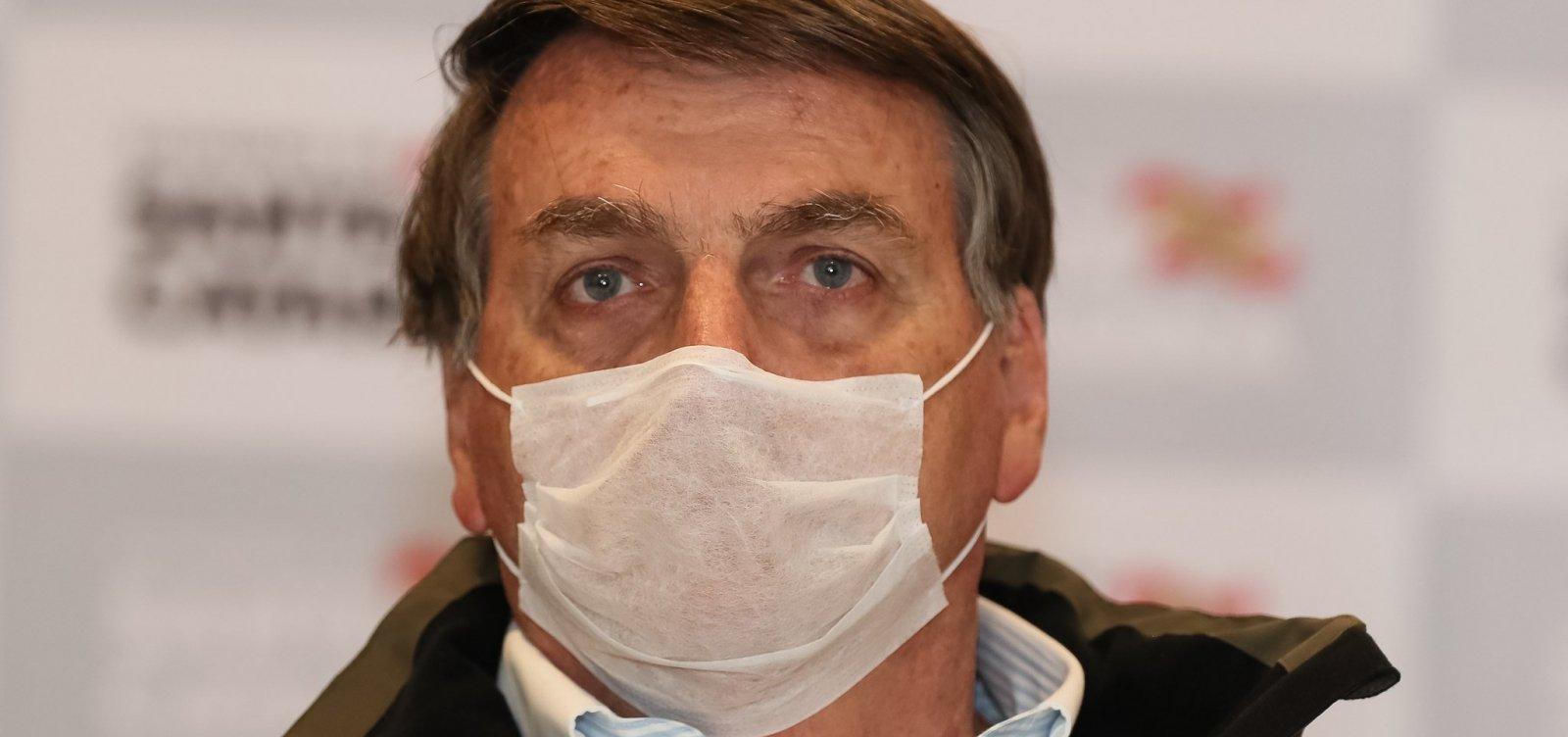 [Bolsonaro amplia vetos a uso de máscaras, que agora deixam de ser obrigatórias em prisões]