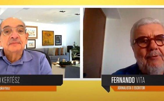 [Fernando Vita revela que está escrevendo novo livro: 'Todavia não sai de mim']