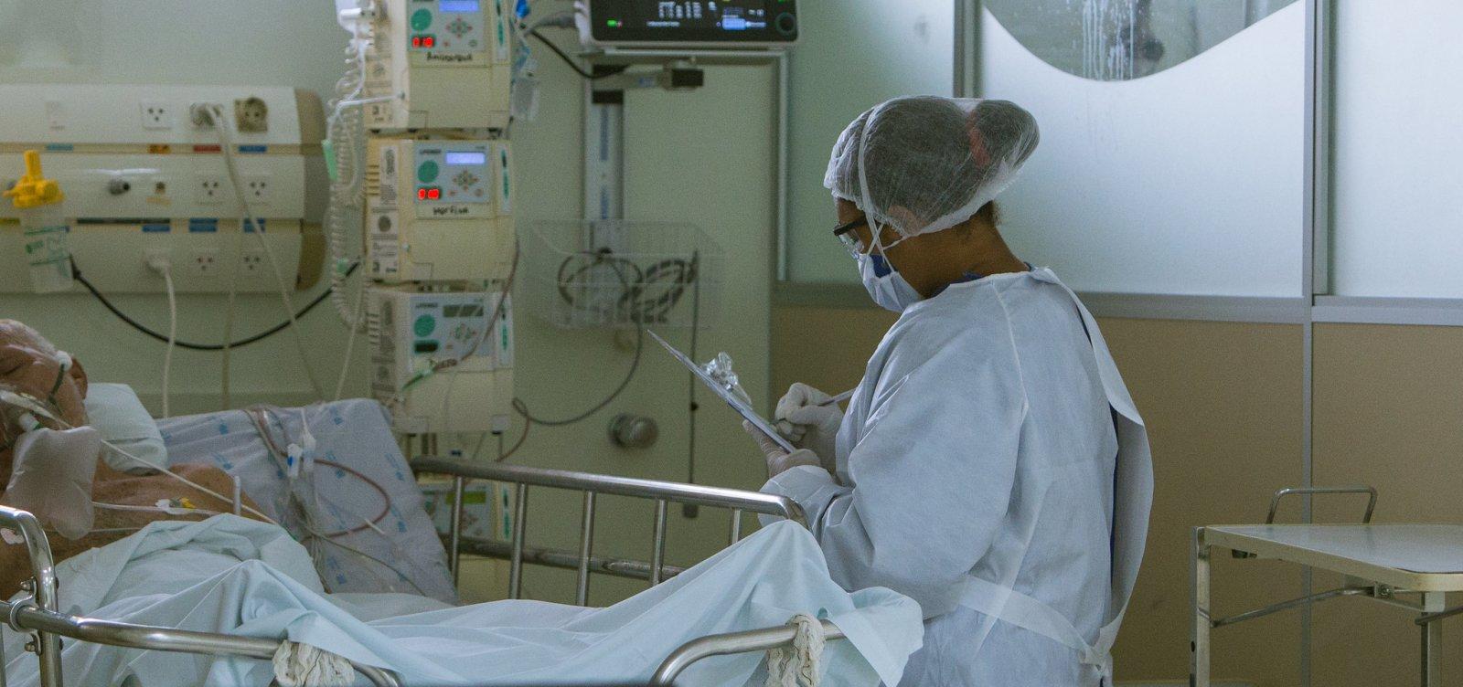[Sesab passa a recomendar internação precoce de paciente com Covid-19]