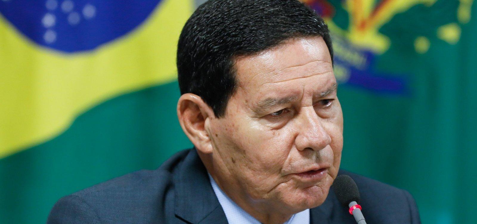 [Mourão diz que compromisso brasileiro com a Amazônia é 'inabalável']