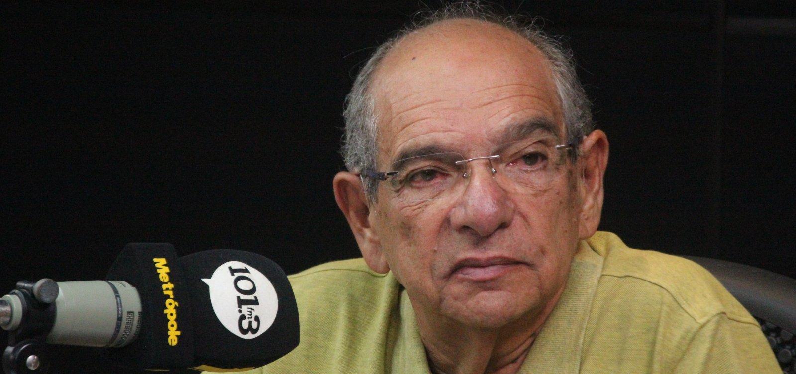 [Mário Kertész diz que coronavírus pode ser 'provação' a Bolsonaro e deseja recuperação]