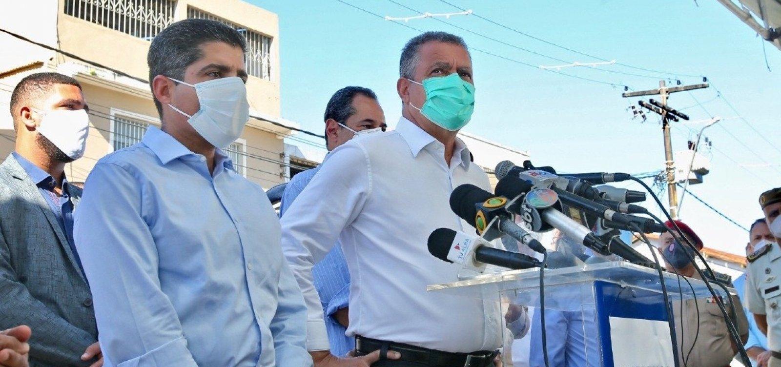 [Rui pede que Bolsonaro deixe bravata de lado, e Neto quer mudança de postura pós-Covid]