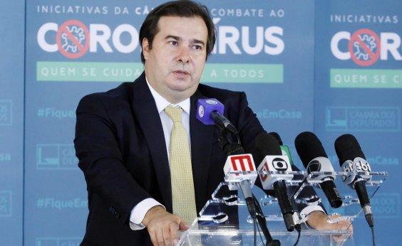 [Maia avalia derrota do governo caso projeto de CPMF seja enviado à Câmara]