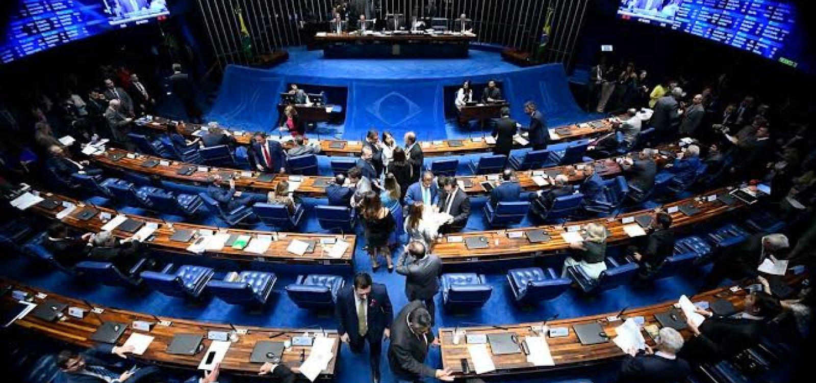 [Senado aprova indenização de R$ 50 mil a profissionais incapacitados pela Covid-19]