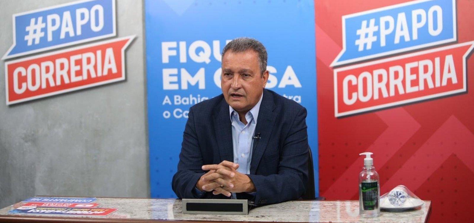 [Governador anuncia ampliação do número de testagens para a Covid-19 na Bahia]