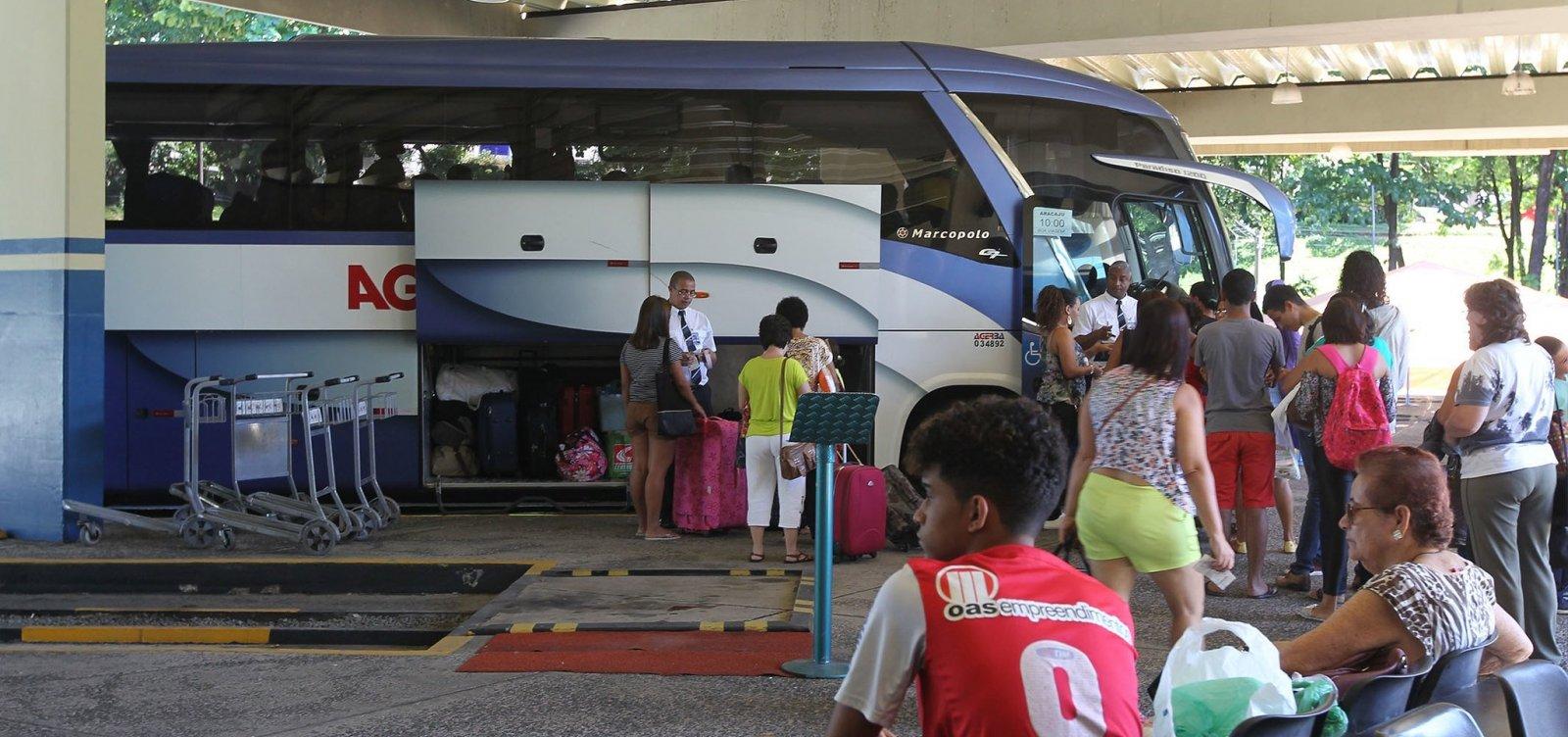 [Mais seis cidades têm transporte suspenso na Bahia; total chega a 371]