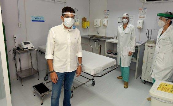 [Prefeito diz que menos de 60% dos internados na UTI em Salvador são moradores da capital]