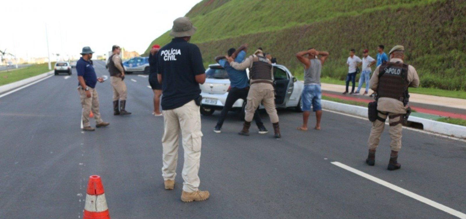 [Roubos de veículos em Salvador têm queda de 29,3% no mês de junho]