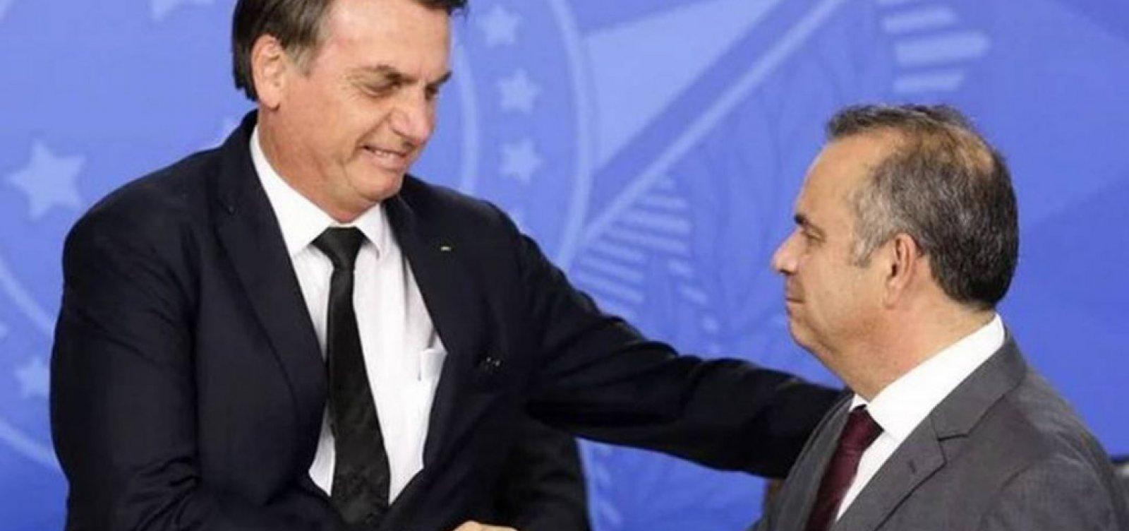 [Após Bolsonaro ser diagnosticado com coronavírus, ministro adia viagem à Bahia]