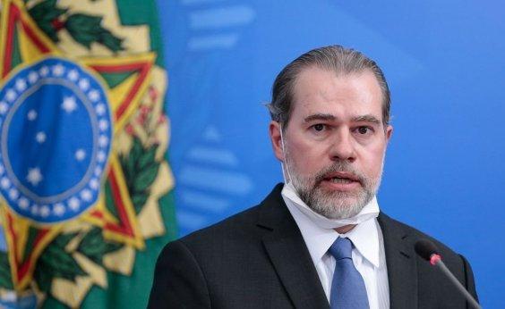 [Toffoli nega pedido para afastar Moraes da relatoria de inquérito]