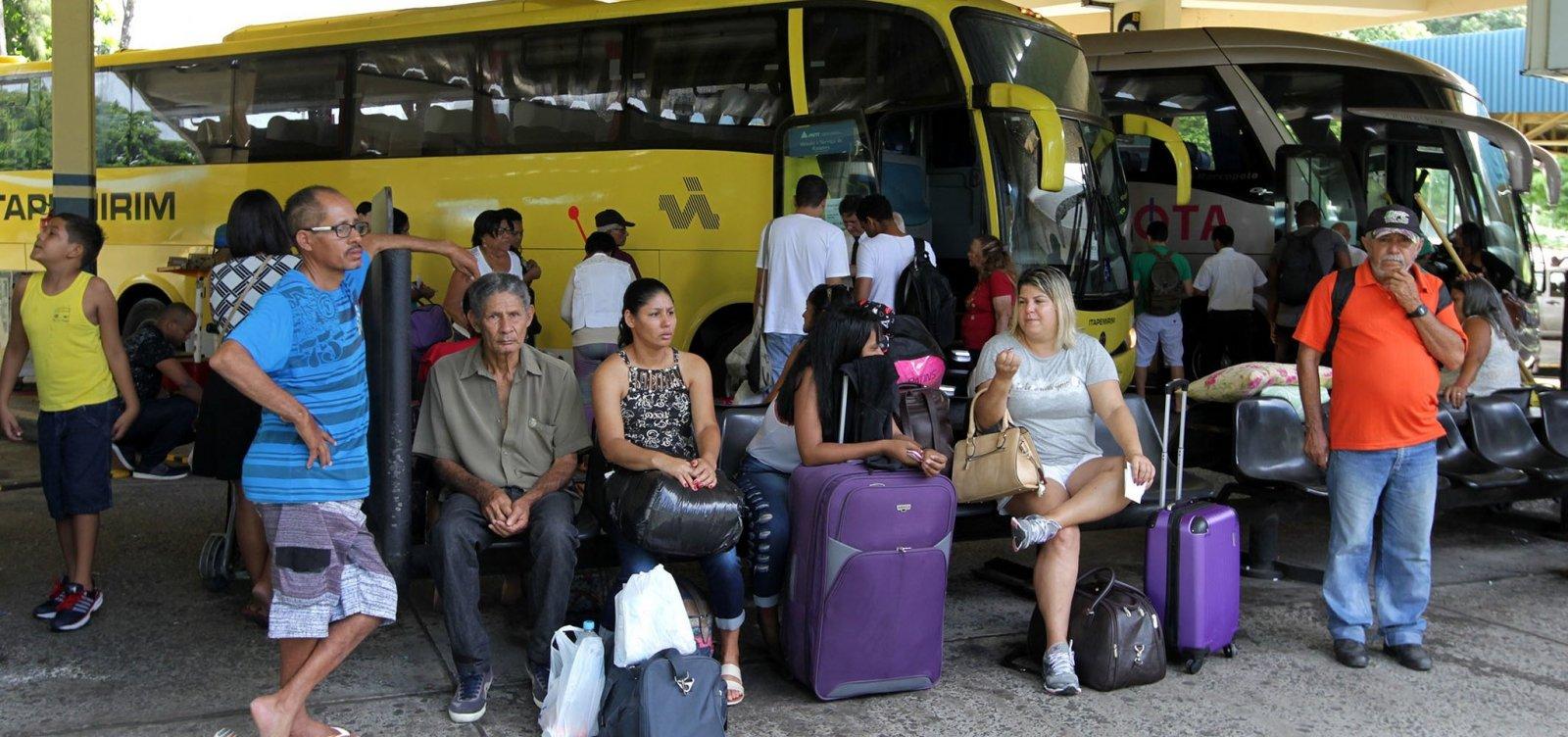 [Bahia tem mais cinco municípios com transporte suspenso; total chega a 376]