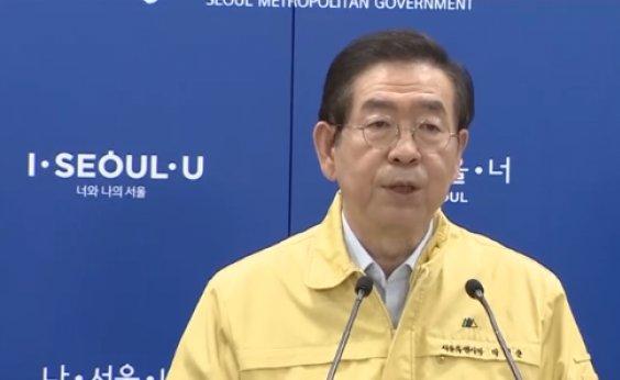 [Prefeito de Seul, na Coreia do Sul, é encontrado morto]