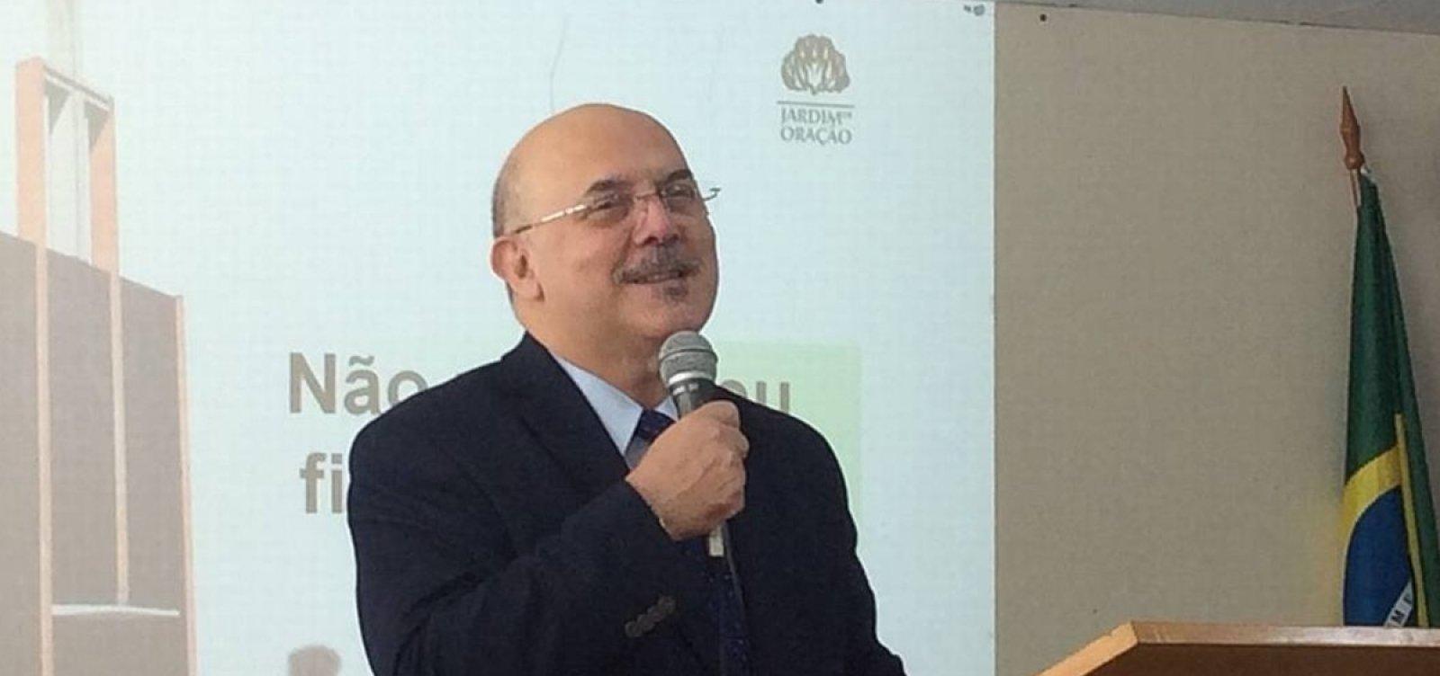[Bolsonaro anuncia professor e pastor Milton Ribeiro como novo ministro da Educação]
