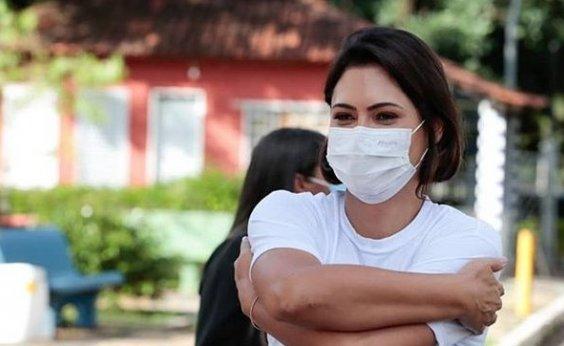 [Michelle Bolsonaro e filhas não estão infectadas com coronavírus]