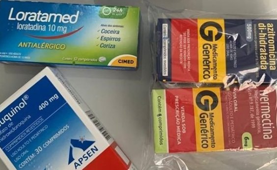 [Sem comprovação médica, prefeitura de Itagi distribui 'kit Covid-19' com cloroquina e ivermectina]