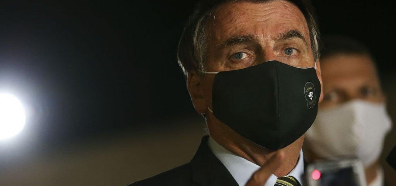 Bolsonaro afirma que está 'muito bem' e fará novo exame para covid-19.