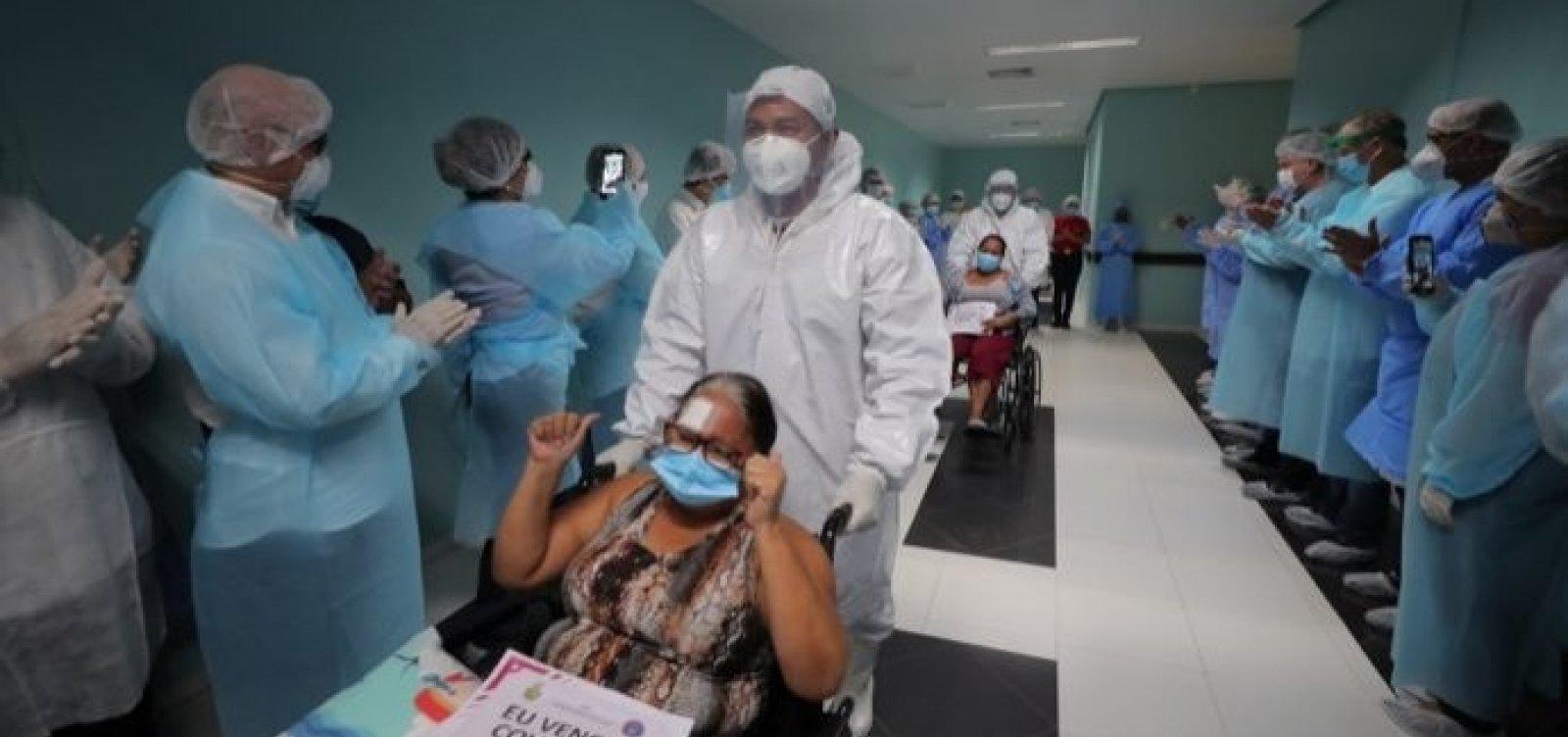 [Número de recuperados da Covid-19 é quase o triplo dos casos ativos em Salvador]