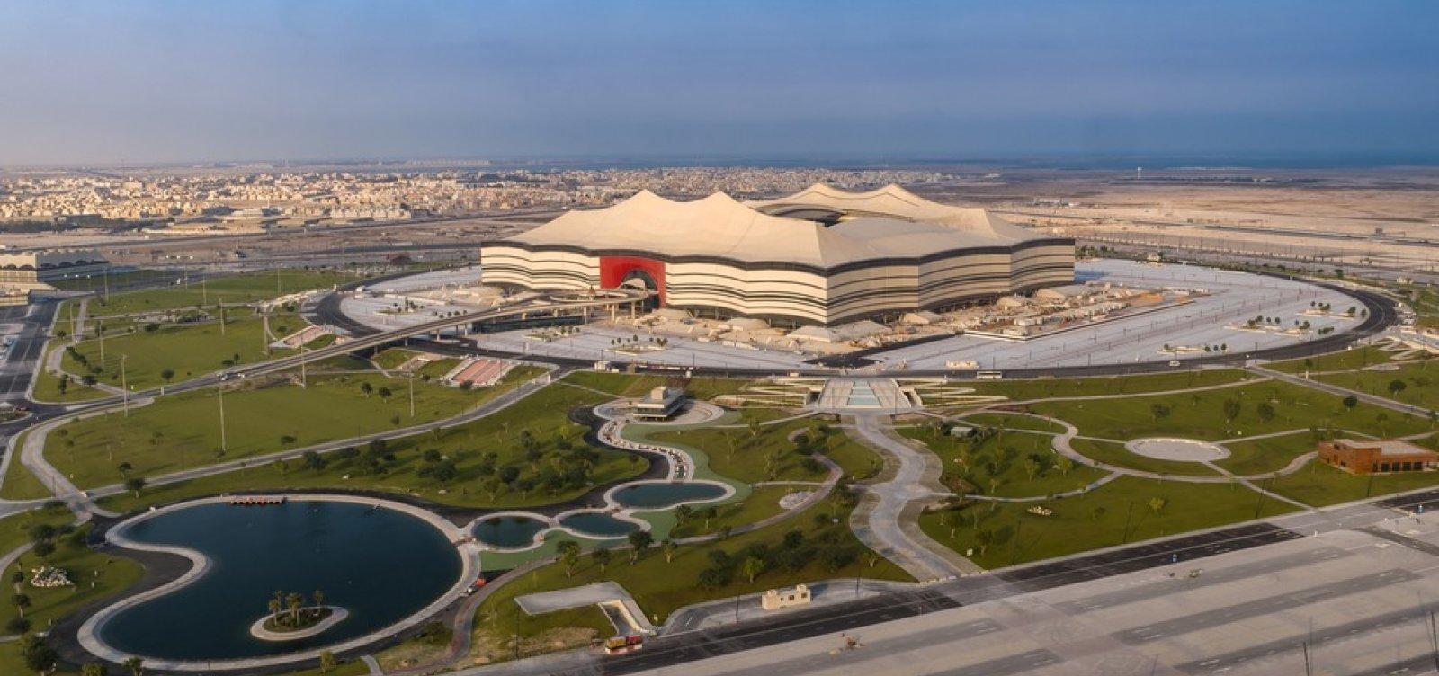 [Fifa divulga tabela dos jogos da Copa do Mundo de 2022 no Qatar ]